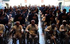 تشرف جمعی از سالمندان به حرم مطهر حضرت معصومه(س)