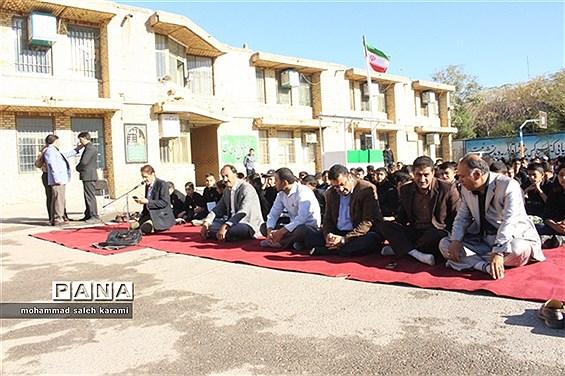 مراسم زیارت عاشورا مدرسه آیت الله سعیدی ناحیه 2 کرمان