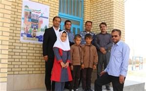 مدرسه ای با سه دانش آموز در منطقه بردخون