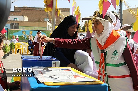 جشن عاطفهها در دبستان حضرت زینب(س) محلات