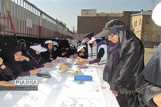 جشن عاطفهها در دبیرستانه دخترانه قرآنی فطرت اراک
