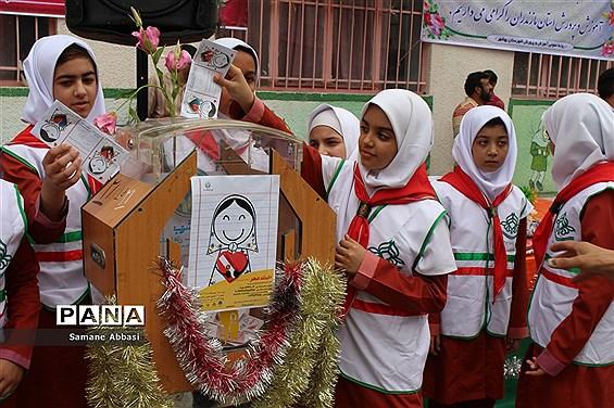 حضور اعضای پیشتاز مازندران در مراسم استانی جشن عاطفهها