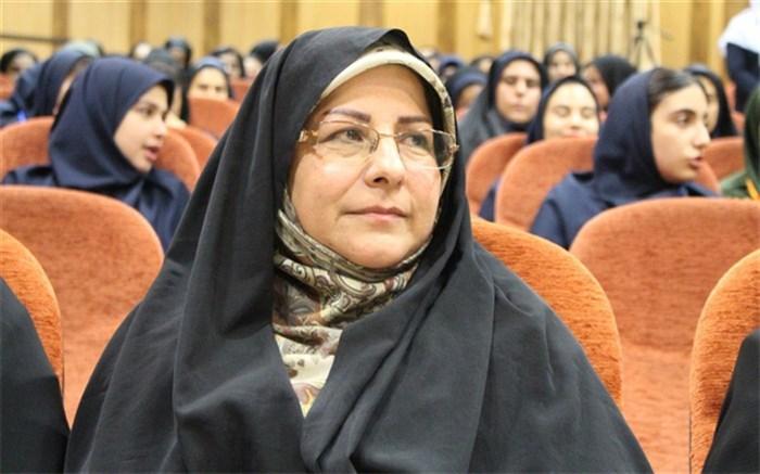 مدیر کل کانون پرورش فکری کودکان و نوجوان فارس زهرا افتخاری