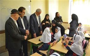 مدرسه خیرساز زرآزوند 3 در منطقه 11 تهران افتتاح شد