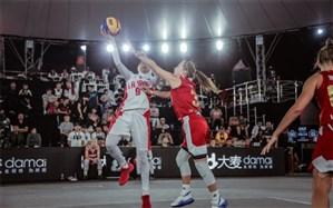 بسکتبال سه نفره قهرمانی زیر 23 سال جهان؛ وداع دختران ایران در یک چهارم نهایی