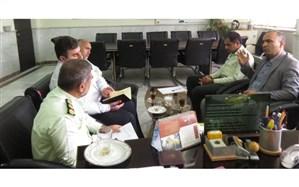 جلسه مشترک پلیس ناجا با آموزش و پرورش گلستان  برگزار شد