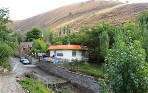 افتتاح مدرسه روستایی خیرساز در سلماس