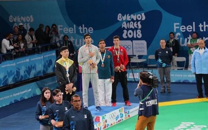 کسب مدال طلای تکواندو جهان در المپیک جوانان
