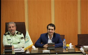 دیدار رئیس سازمان دانش آموزی استان با فرمانده نیروی انتظامی همدان