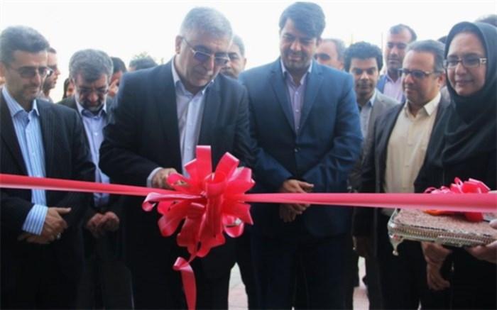 افتتاح ساختمان ستادی سازمان جهاد دانشگاهی استان
