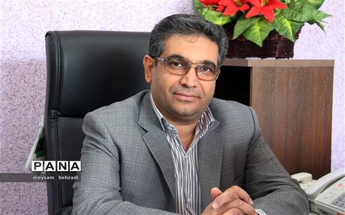 """"""" عباس صفوی """" به عنوان رئیس آموزش و پرورش منطقه گلباف منصوب شد"""