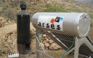 نصب 60 دستگاه آبگرمکن خورشیدی و تنور گازی در روستاهای اردبیل