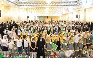 """حضور 700 نوآموز پیش دبستانی در همایش """" رقیه جان دوستت دارم"""" در شیراز"""