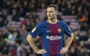 مدافع بارسلونا حضور در الکلاسیکو را از دست داد