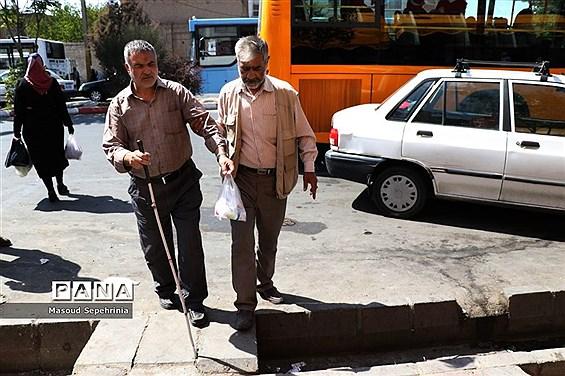 روز جهانی عصای سفید در تبریز