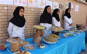 جشنواره روز جهانی غذادرهنرستان رسالت بیرجند برگزارشد