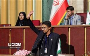 پیروزی نمایندگان مجلس دانش آموزی خوزستان در مجلس کشوری