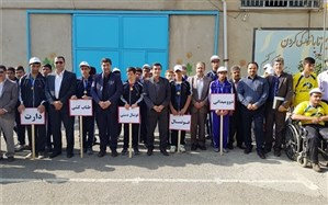 جشن پارالمپیک درآموزشگاه با نیازهای ویژه نوآوران سنندج برگزار شد