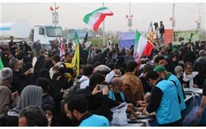 پذیرایی روزانه از ۵۰ هزار زائر اربعینی در موکب مع امام منصور