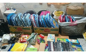 توزیع ۲ هزار بسته لوازم التحریر رایگان بین دانش آموزان