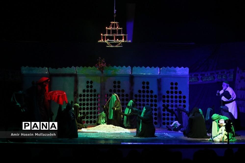 تئاتر تعزیه « ای قلبیمین قراره »