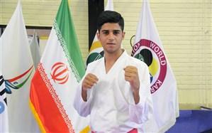 دانش آموز کاراته کا شیرازی مدال طلای کاراته المپیک جوانان را کسب کرد