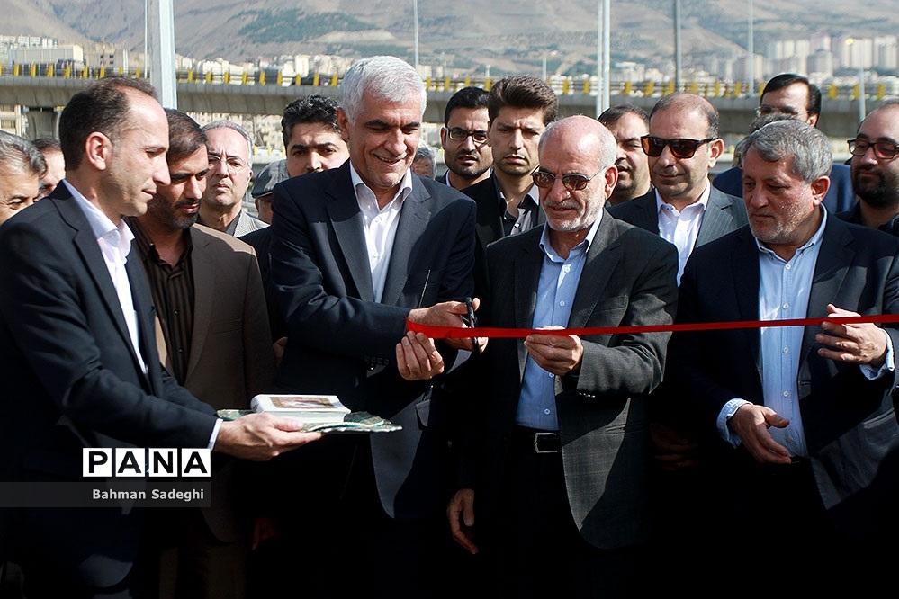 افتتاح بخش شمالی بزرگراه شهید صیاد شیرازی