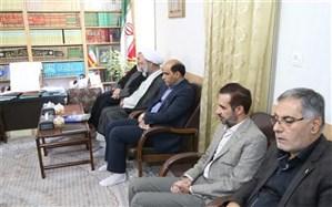 مدیرکل آموزش و پرورش استان یزد با رییس حوزه علمیه خواهران کشور دیدار کرد