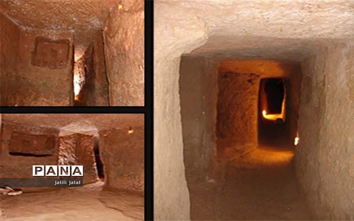 یافته های شهر زیرزمینی نوش آباد در موزه ملی کاشان رونمایی می شود