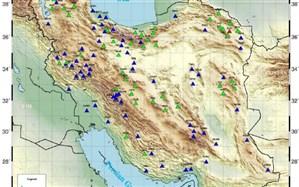 ایران در آبان 99  بیش از ۱۰۰۰ بار لرزید