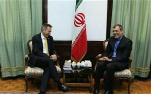 دستیار ظریف با  رئیس کمیته بین المللی صلیب سرخ دیدار کرد