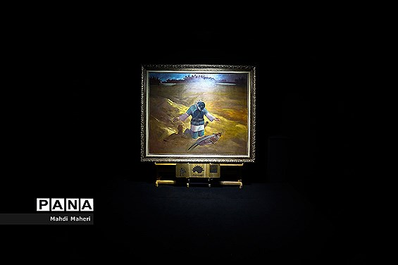 افتتاحیه نگاه خانه بازنمایی اثر نقاشی  عنوان «توبه حر»