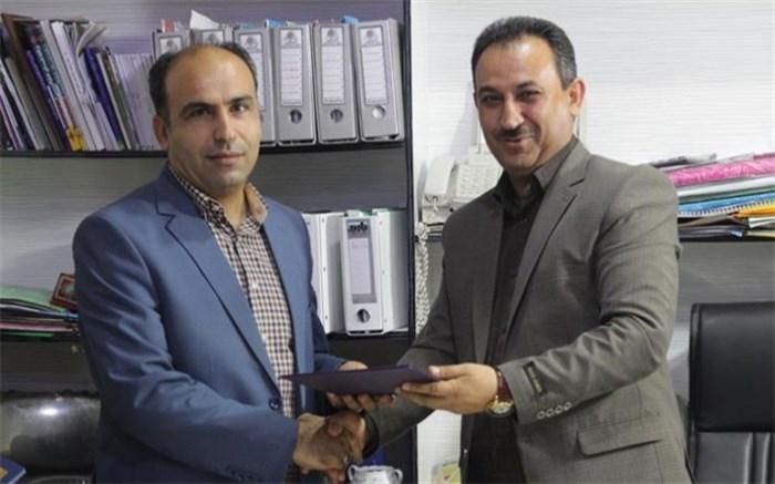 حسین زارعی به سمت رئیس اداره تعاون و امور رفاهی آموزش و پرورش استان بوشهر منصوب شد