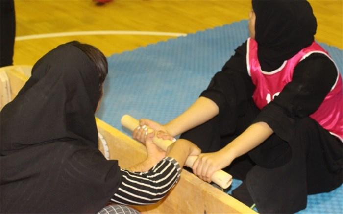 رشته چوب کشی  زنان  استان بوشهر