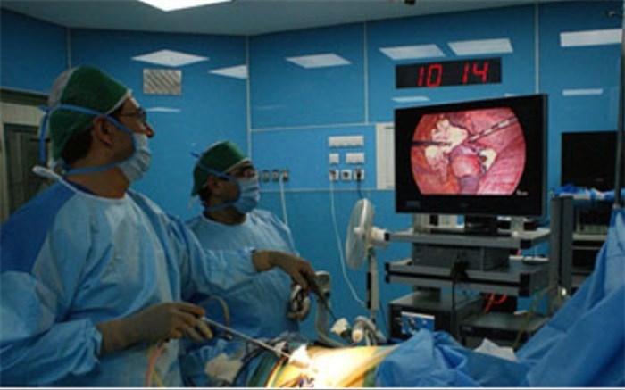 انجام عمل جراحی هپاتیکوژژونستومی  رو - ان - وای  به روش لاپاروسکوپی