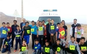 برگزاری مسابقه دو صحرا نوردی دانش آموزان پسردر منطقه میمه