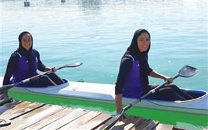 قایقرانی قهرمانی زیر 23 سال و جوانان آسیا؛ کایاک دو نفره پسران و دختران ایران طلایی شد