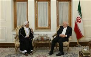 دیدار معاون سیاسی وزیر امور خارجه عمان با ظریف