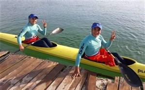 قایقرانی قهرمانی زیر 23 سال و جوانان آسیا؛ روز طلایی دختران ایران کامل شد