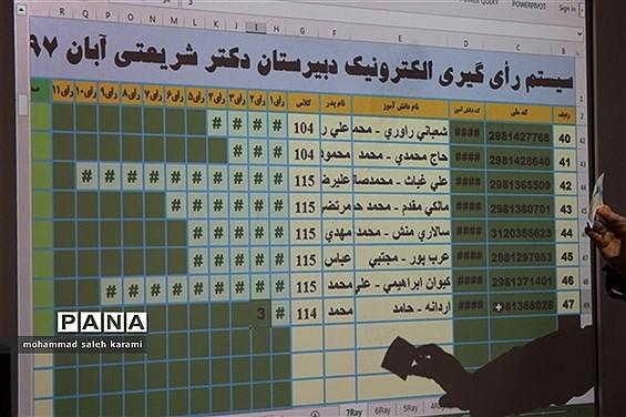 انتخابات الکترونیک شوراهای دانش آموزی