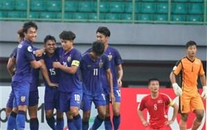 فوتبال قهرمانی جوانان آسیا؛ تایلند با 3 امتیاز مرگ و زندگی صعود کرد
