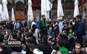 راهپیمایی پرشور «جاماندگان» اربعین حسینی در تهران