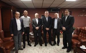 دیدار برانکو و سید جلال حسینی با وزیر ورزش و جوانان