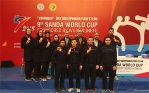 کمیته ملی المپیک قهرمانی تیم ملی ووشو در رقابتهای جام جهانی را تبریک گفت