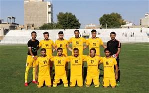 شکست نود ارومیه بعد 5 بازی بیشکستی در لیگ دسته یک فوتبال