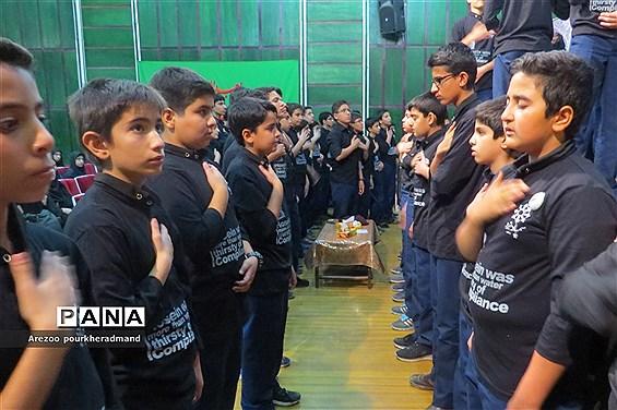 گرامیداشت اربعین حسینی در دبیرستان دخترانه فرزانگان دوره اول ناحیه 2 یزد