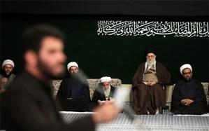 مراسم عزاداری اربعین حسینی (ع) با حضور رهبر انقلاب برگزار شد