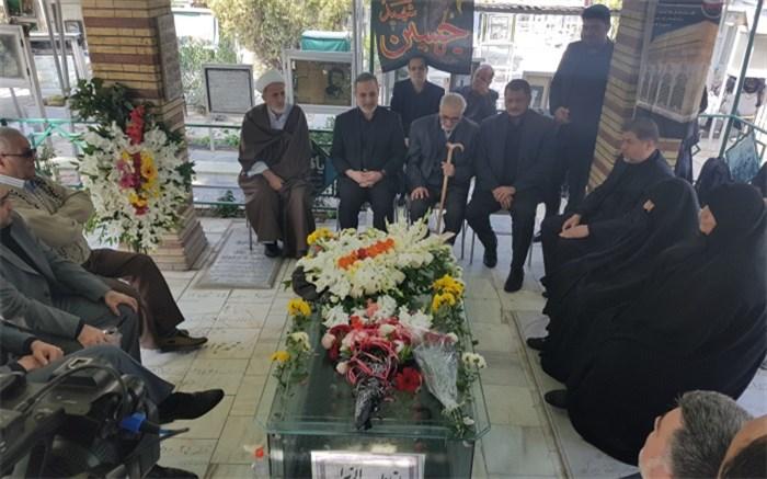 وزیر أموزش و پرورش در مراسم سالگرد شهید فهمیده
