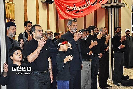 مراسم صبح اربعین در مجتمع ابن حسام بیرجند