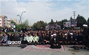 حماسه آفرینی مردم شهرقدس در راهپیمایی جاماندگان اربعین حسینی
